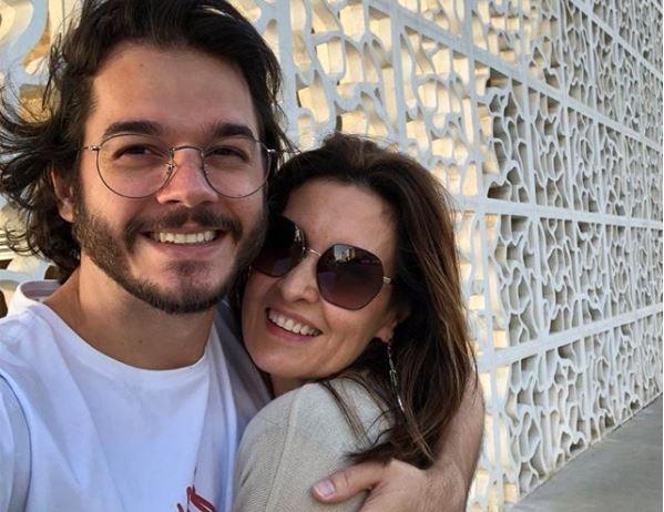 Fátima Bernardes posou com o namorado Túlio Gadêlha (Foto: Reprodução/Instagram)