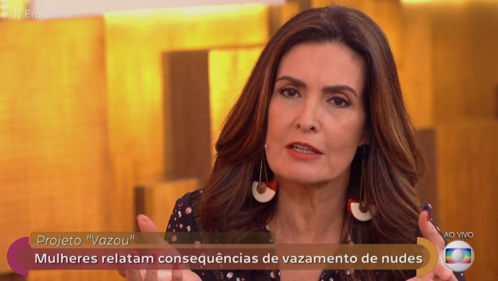 Apresentadora do programa da Globo (Foto: Reprodução/Globo)