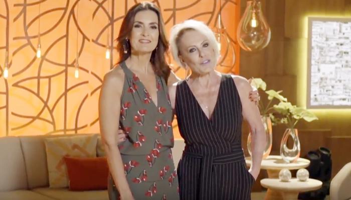 Fátima Bernardes e Ana Maria Braga estarão juntas no Encontro (Foto: Reprodução/Globo)
