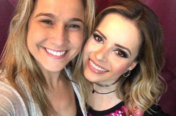 Fernanda Gentil e Sandy (Foto: Reprodução/Instagram)