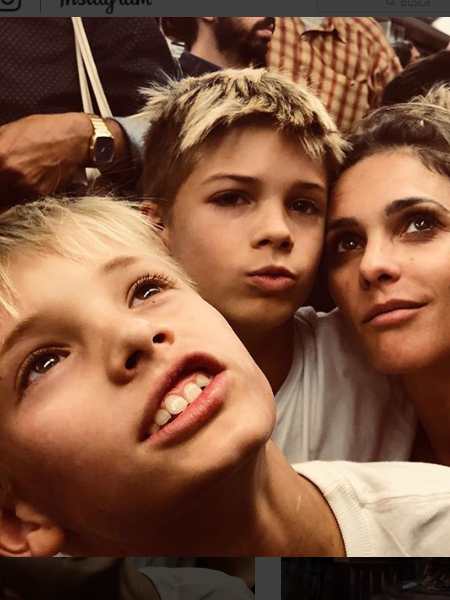 Francisco e João, filhos gêmeos de Fernanda Lima e Rodrigo Hilbert (Foto: Reprodução/Instagram)