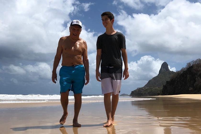 Carlos Alberto Nóbrega e João Victor Nóbrega (Foto: Divulgação)