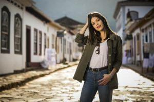 Cris é a personagem de Vitória Strada em Espelho da Vida (Foto: Globo/João Miguel Junior)