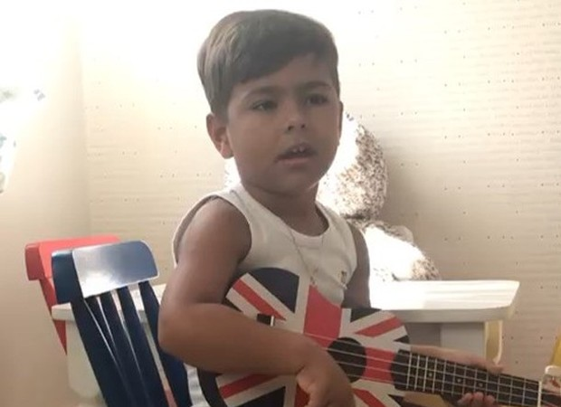 Henry, o filho de Simone e Kaká Diniz (Foto: Reprodução Instagram)