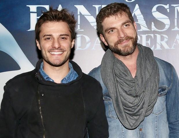 Os dois atores juntos em evento (Foto: Manuela Scarpa/Brazil News)