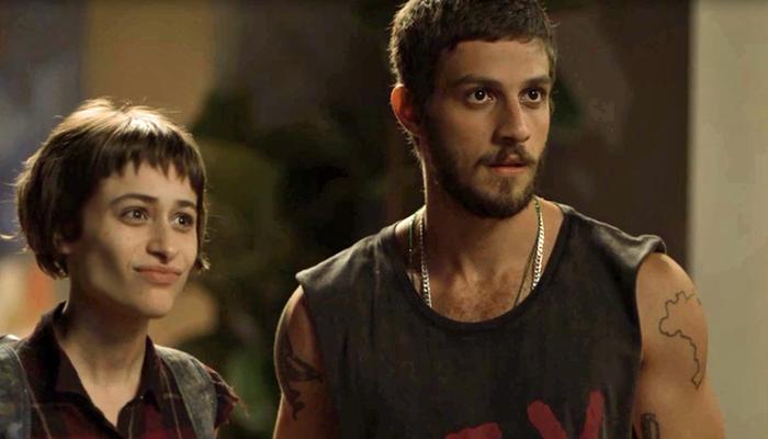 Manu (Luisa Arraes) e Ícaro (Chay Suede) em cena de Segundo Sol (Foto: Divulgação/Globo)