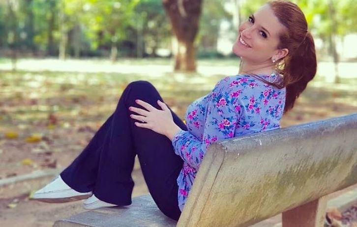 A ex-apresentadora do Bom Dia & Cia, Jéssica Esteves (Foto: Divulgação)