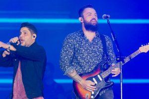 Jorge e Mateus colocaram fim na parceria com a Áudio Mix (Foto: Reprodução)