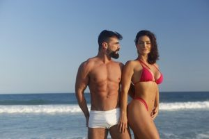Laura Keller e Jorge Sousa (Foto: Reprodução)