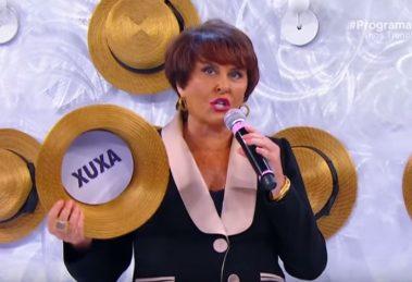 Márcia Fernandes falou de Xuxa no Programa Raul Gil (Foto: Reprodução/SBT)