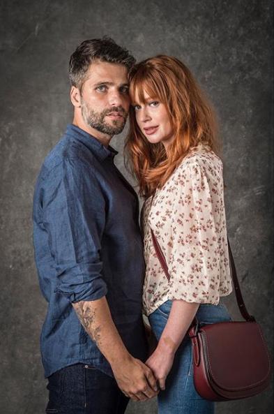 Casal de protagonistas da próxima novela das nove. (Foto: João Cotta/Divulgação)