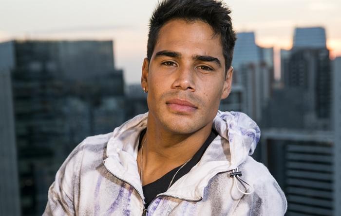 O ator e cantor Micael Borges (Foto: Globo/João Miguel Júnior)