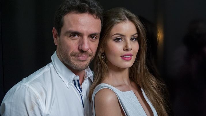 Rodrigo Lombardi e Camila Queiroz protagonizaram Verdades Secretas. (Foto: Divulgação)