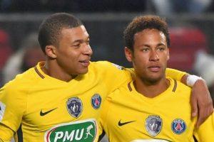 Mbappé e Neymar são estrelas do Campeonato Francês. (Foto: Divulgação)