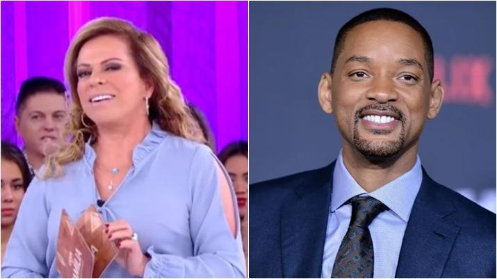 Christina Rocha convidou Will Smith para o Casos de Família. (Foto: Montagem/Reprodução)