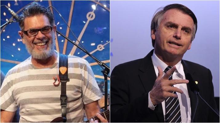 Roger Moreira apoia o candidato a presidente Jair Bolsonaro. (Foto: Montagem/Reprodução)