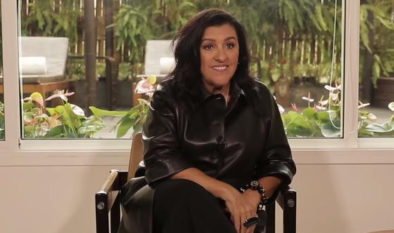 A apresentadora e atriz de Amor de Mãe da Globo, Regina Casé. (Foto: Reprodução)