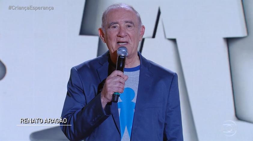 Renato Aragão (Foto: Reprodução/TV Globo)