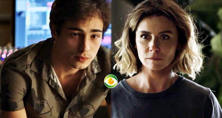 Valentim e Luzia em Segundo Sol (Foto: Montagem/TV Foco)