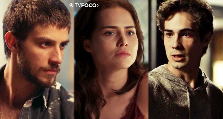 Triângulo amoroso da novela Segundo Sol (Foto: Montagem/TV Foco)