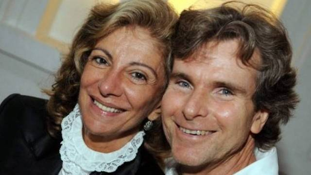 Marília Pêra da Globo e Bruno Faria (Foto: Reprodução)