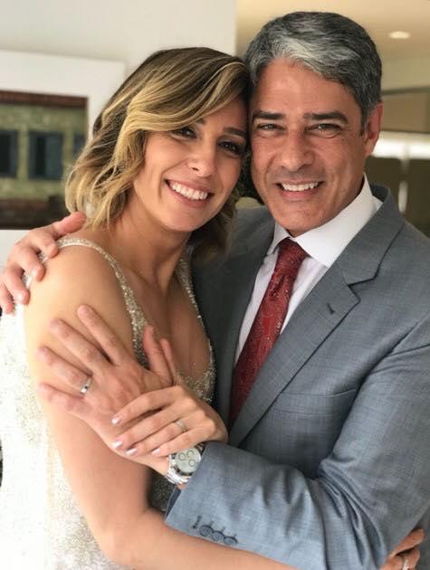 William e a esposa Natasha Dantas (Foto: Divulgação/O Globo