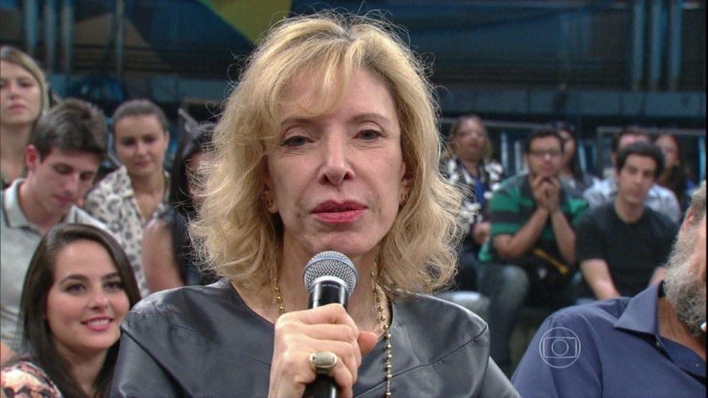 Marília Gabriela está fora da TV e não pretende retornar. (Foto: Reprodução)