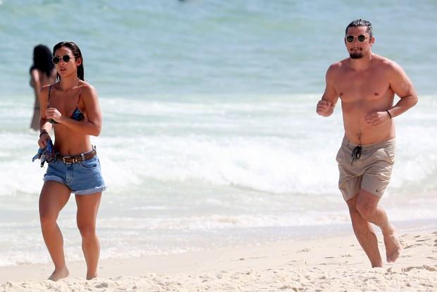 Bruno Gissoni e Yanna Lavigne (Foto: Dilson Silva / AgNews)