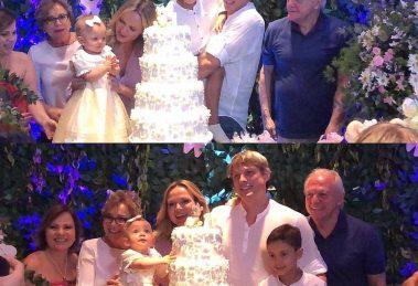 Eliana comemorou 1 ano de vida da pequena Manuela (Foto reprodução Instagram Eliana News)