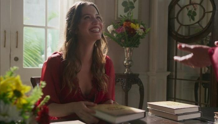Elisabeta (Nathalia Dill) no último capítulo de Orgulho e Paixão (Foto: Reprodução/Globo)
