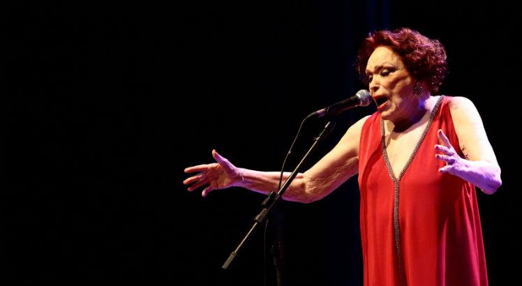 Bibi Ferreira, um ícone nacional. (Foto: André Nery/ Acervo JC Imagem)