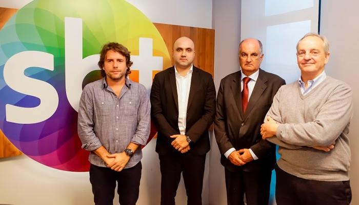 Ciro Thomaz, Manoel Flores, Alexi Portela e Marcelo Parada (Foto: Gabriel Cardoso/SBT)
