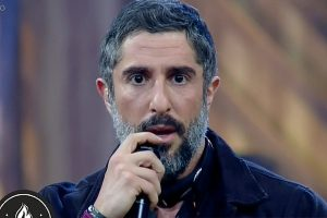 Marcos Mion na estreia de A Fazenda 10 (Foto: Reprodução/Record)