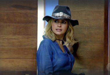 Ana Paula Renault em A Fazenda 10, na Record (Foto: Divulgação)