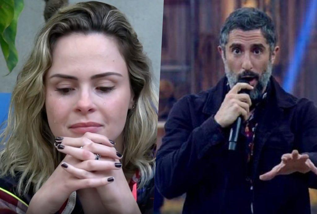 Ana Paula Renault chamou atenção de Marcos Mion ao vivo na Fazenda