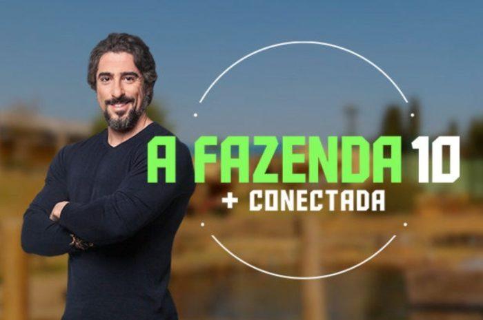 Marcos Mion em A Fazenda (Foto: Divulgação/Record)