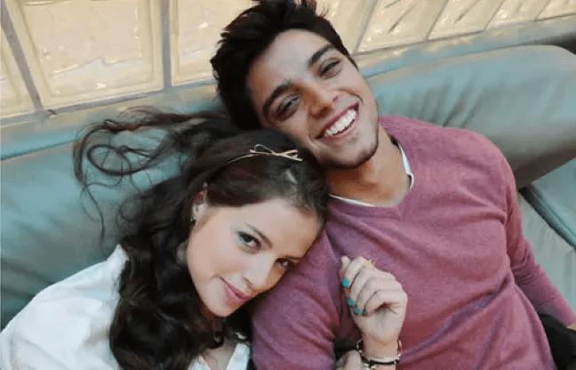 Rodrigo Simas e Agatha Moreira (Foto: Reprodução)