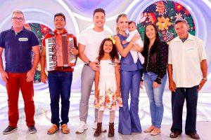 Wesley Safadão esteve no programa Eliana (Foto: Divulgação/SBT)
