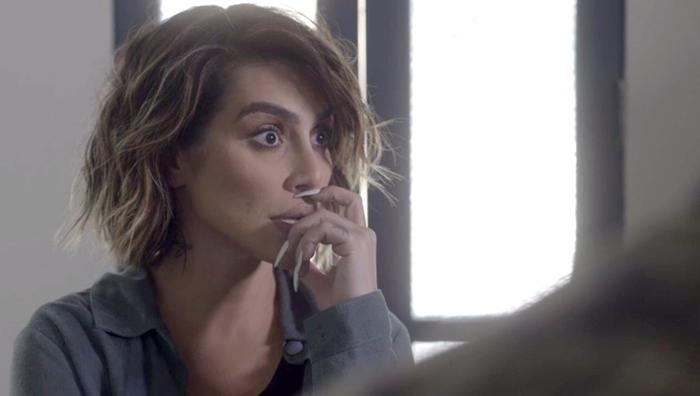 Betina (Cleo Pires) em cena de O Tempo Não Para (Foto: Divulgação/Globo)