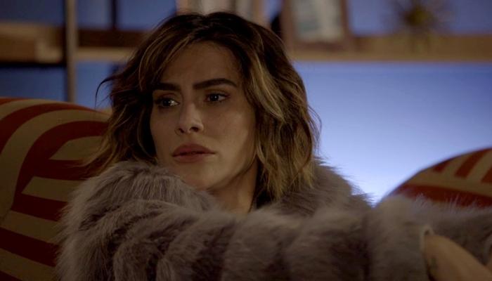 Betina (Cleo) em cena de O Tempo Não Para (Foto: Divulgação/Globo)