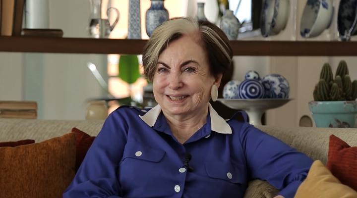 A atriz Beatriz Segall. (Foto: Reprodução)