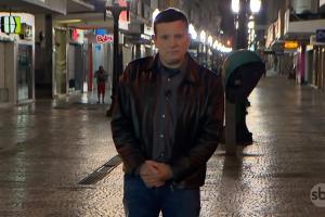 O apresentador Roberto Cabrini noConexão Repórter (Foto: Reprodução/SBT)
