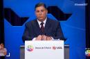 O apresentador Carlos Nascimento no debate do governo de SP (Foto: Reprodução/SBT)