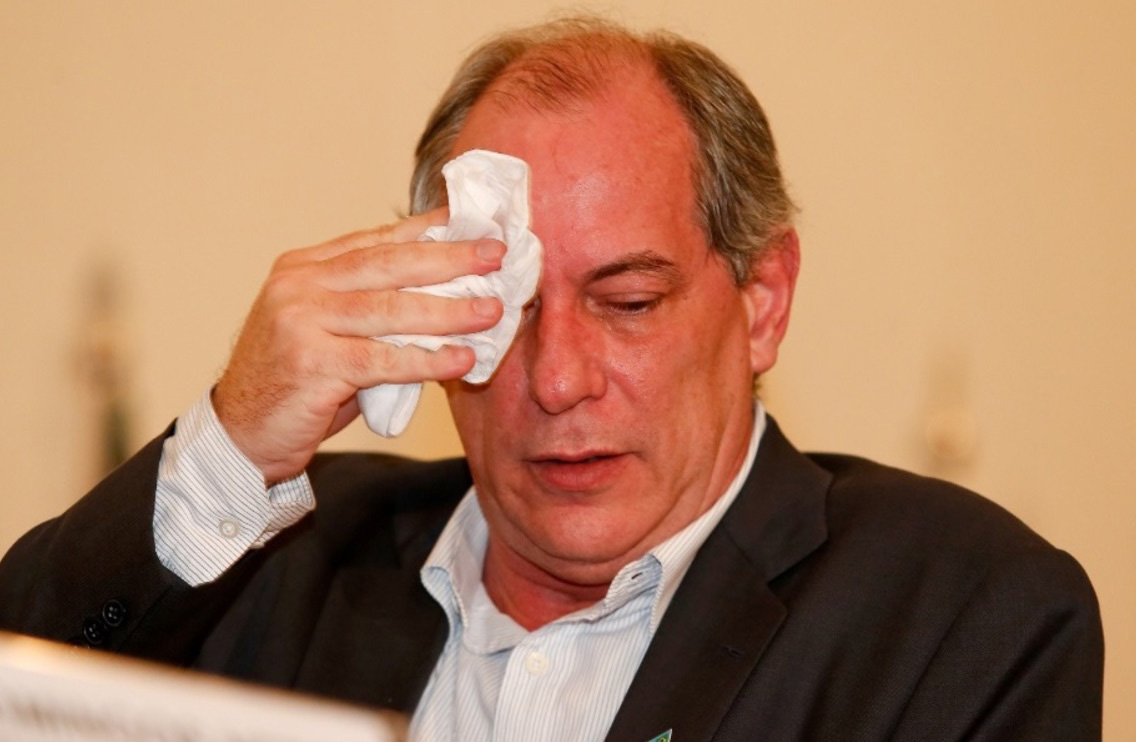 Ciro Gomes, candidato do PDT (Foto:Márcia Foletto / Agência O Globo)
