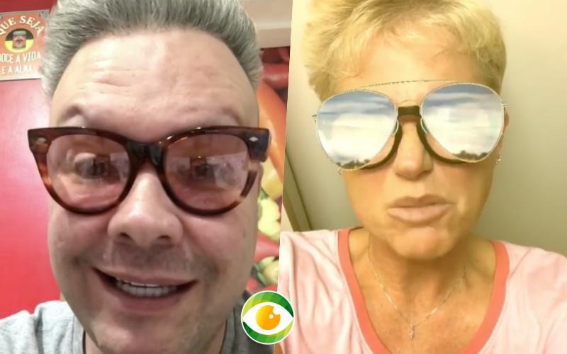 Xuxa criticou atitude de Felipeh Campos, mas pecou ao fazer afirmação (Foto reprodução)