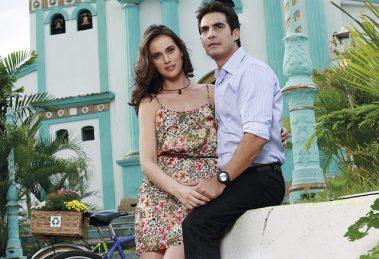 Os protagonistas da novela Coração Esmeralda, da TV Aparecida (Foto: Divulgação)