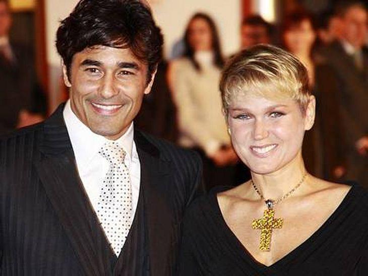 Xuxa e Luciano Szafir (Foto: Reprodução)