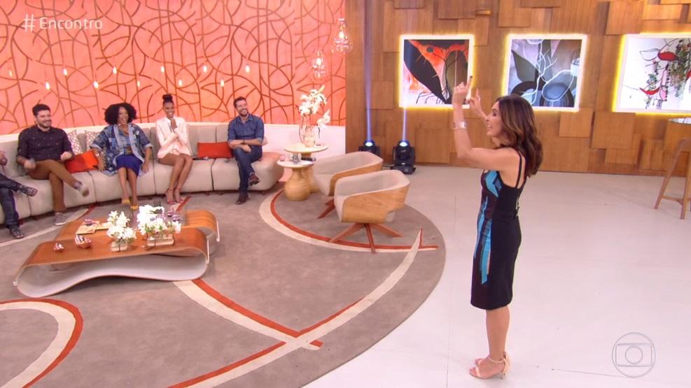 Convidados de Fátima Bernardes na Globo (Foto: Reprodução/Globo)