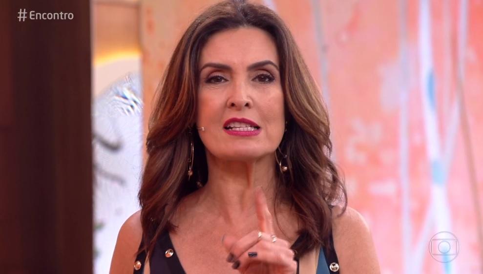 Fátima Bernades na Globo (Foto: Reprodução/Globo)