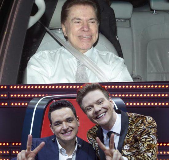 Silvio Santos e Michel Teló do The Voice Brasil estão no Subiu, desceu de hoje